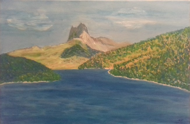 Lago Lanuza y peña Foratata
